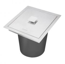 Lixeira p/Granito 5L Quadrum 94518/105 Tramontina Design Collection