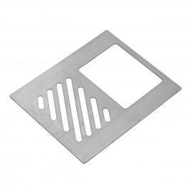 Porta Detergente e Esponja Inox 197x1x157mm 4328 Masutti