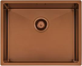 Cuba 54x44x20 Quadrum Rose Gold 94007/403 Tramontina Design Collection