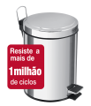 Lixeira c/pedal 20l Inox Brasil 94538/120 Tramontina