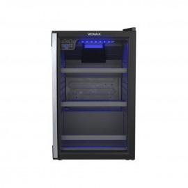 Cervejeira 100L Blue Light Preta/Porta Vidro 127v 12196 Venax