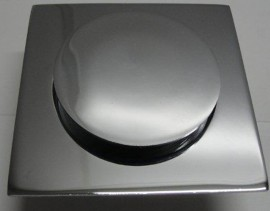Ralo Grelha Click 10x10 Alumínio