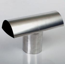 Chapéu T Compact Alumínio Ø100x300mm Wdb