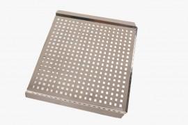 Grelha Inox 46,5X43,5cm Multiuso Kort
