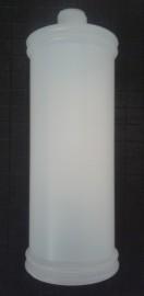 Frasco Plástico Branco p/Dosador de Sabão Ghelplus (modelo antigo)